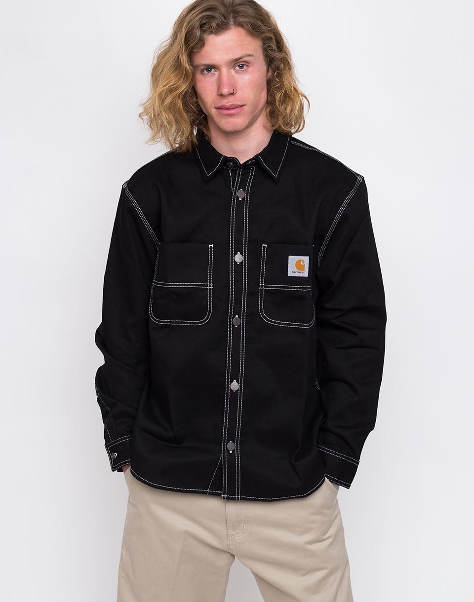 Carhartt WIP Chalk Shirt Jac Black Rigid M