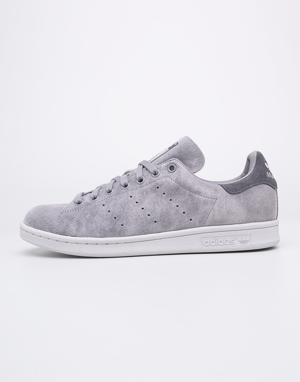 Sneakers - tenisky Adidas Originals Stan Smith Grey Three/Grey Three/Grey Five 41 + doprava zdarma