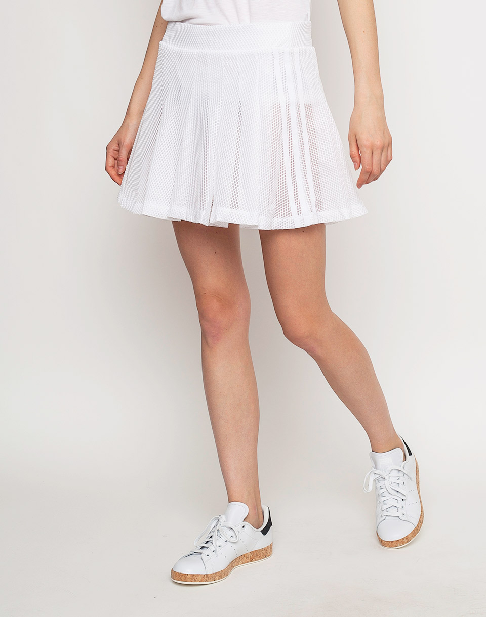 Sukně Adidas Originals TENNIS SKIRT White 38