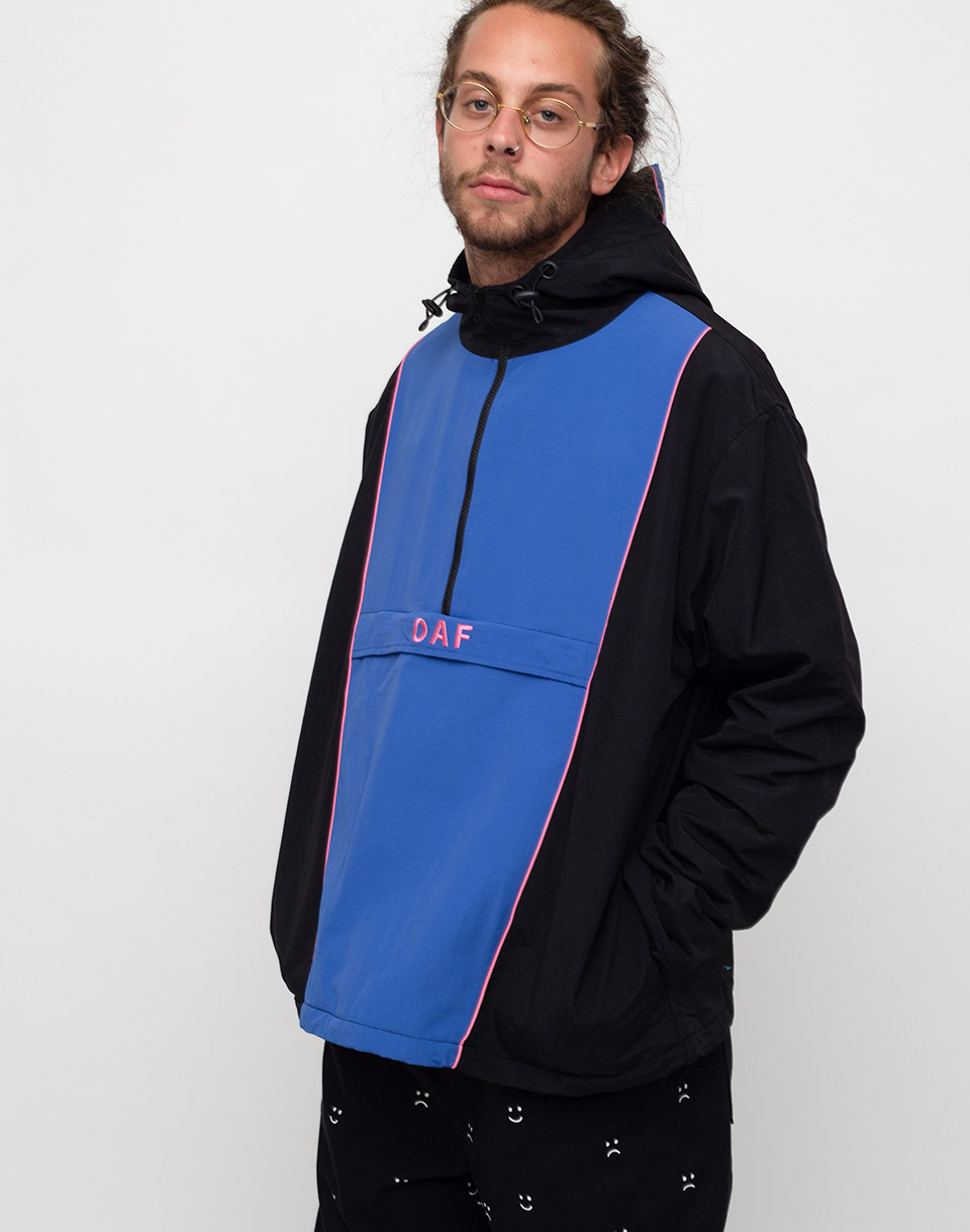 Lazy Oaf Oaf Panel Windbraker Back L