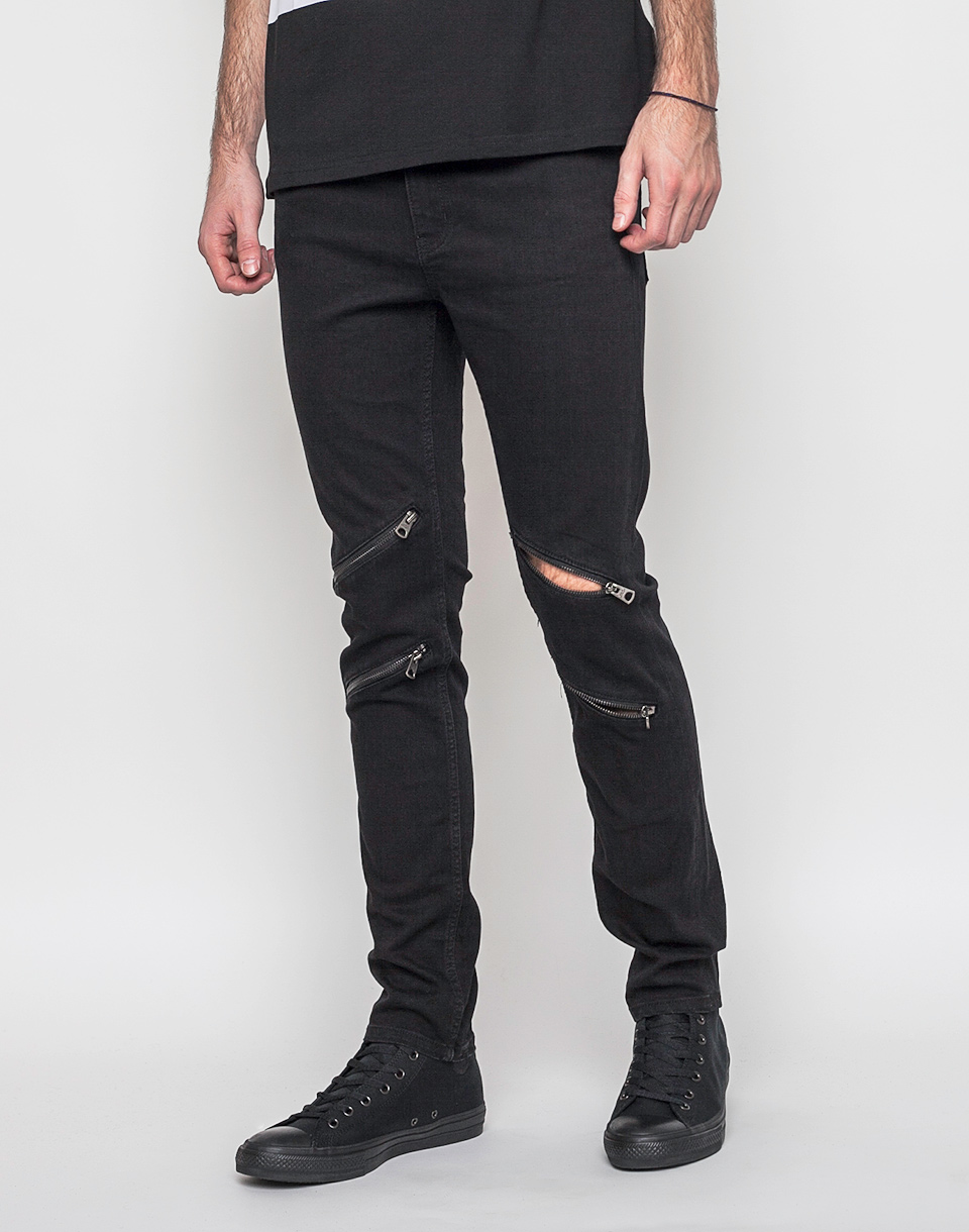 Kalhoty Cheap Monday Tight Inter Black w33/l34