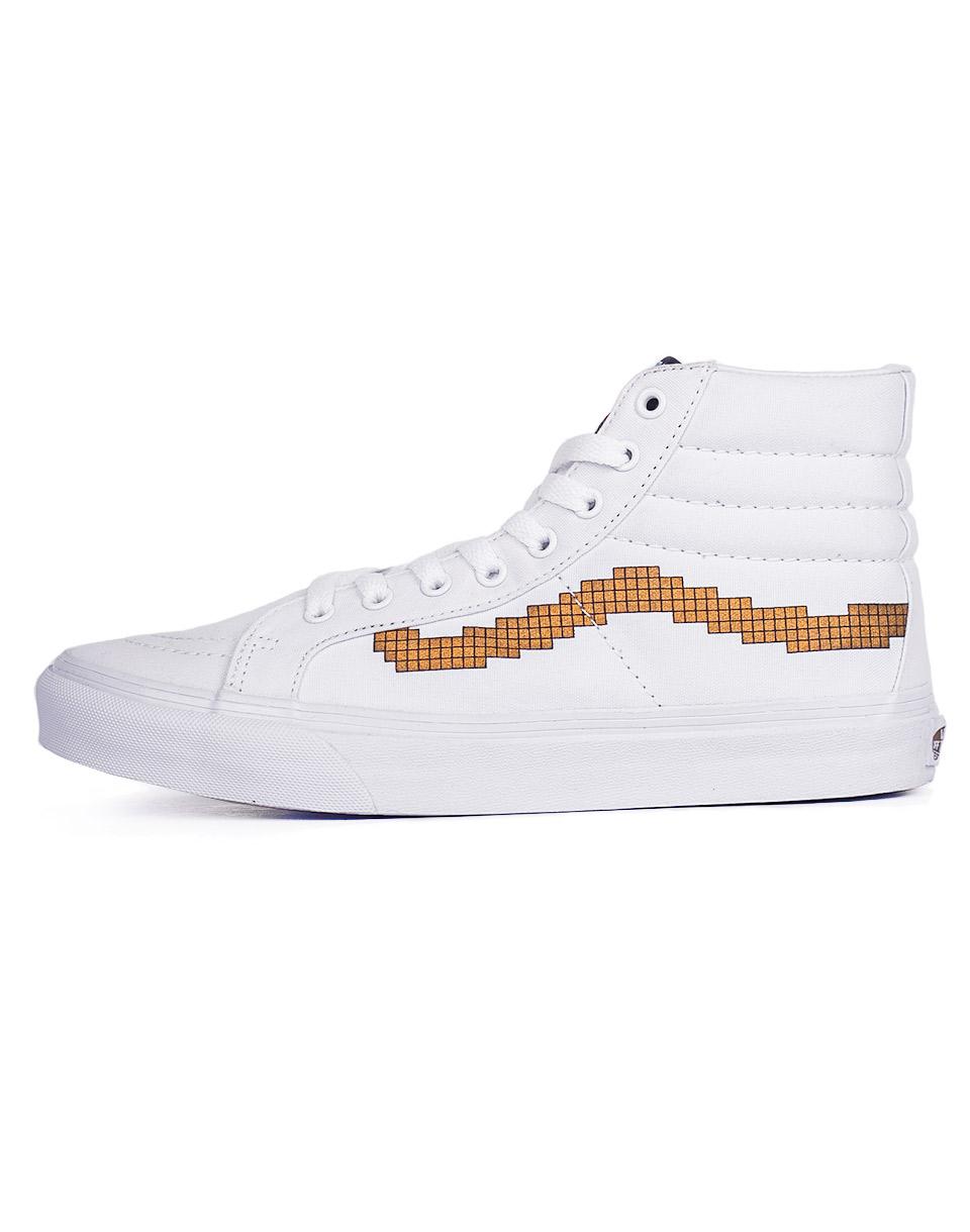 Sneakers - tenisky Vans NINTENDO x U SK8-Hi Slim (Nintendo) Console/gold 37