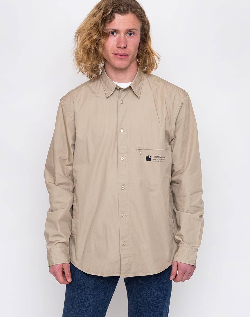 Carhartt WIP Coleman Shirt Wall/Black L