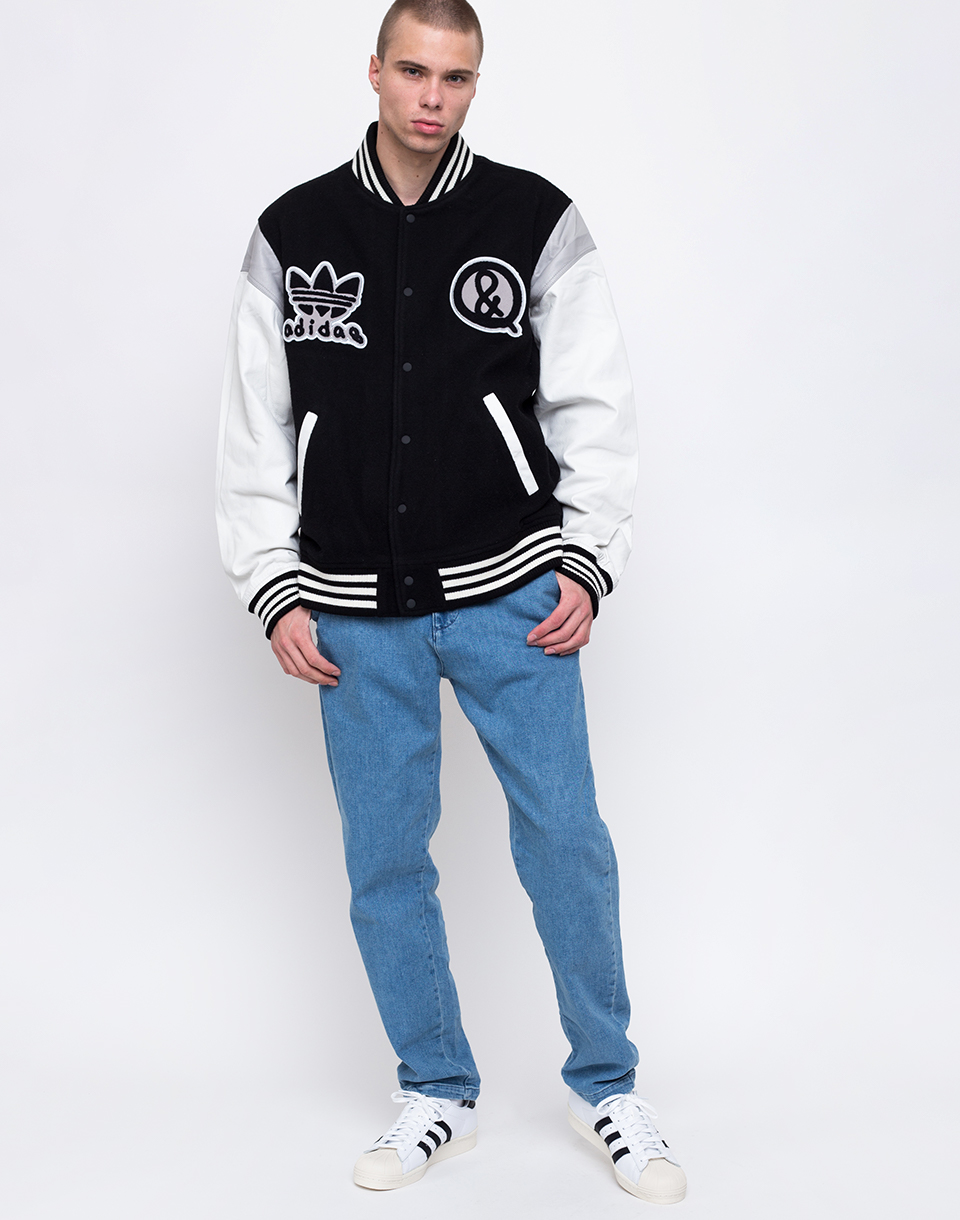 adidas Originals UAS Varsity Black   white L