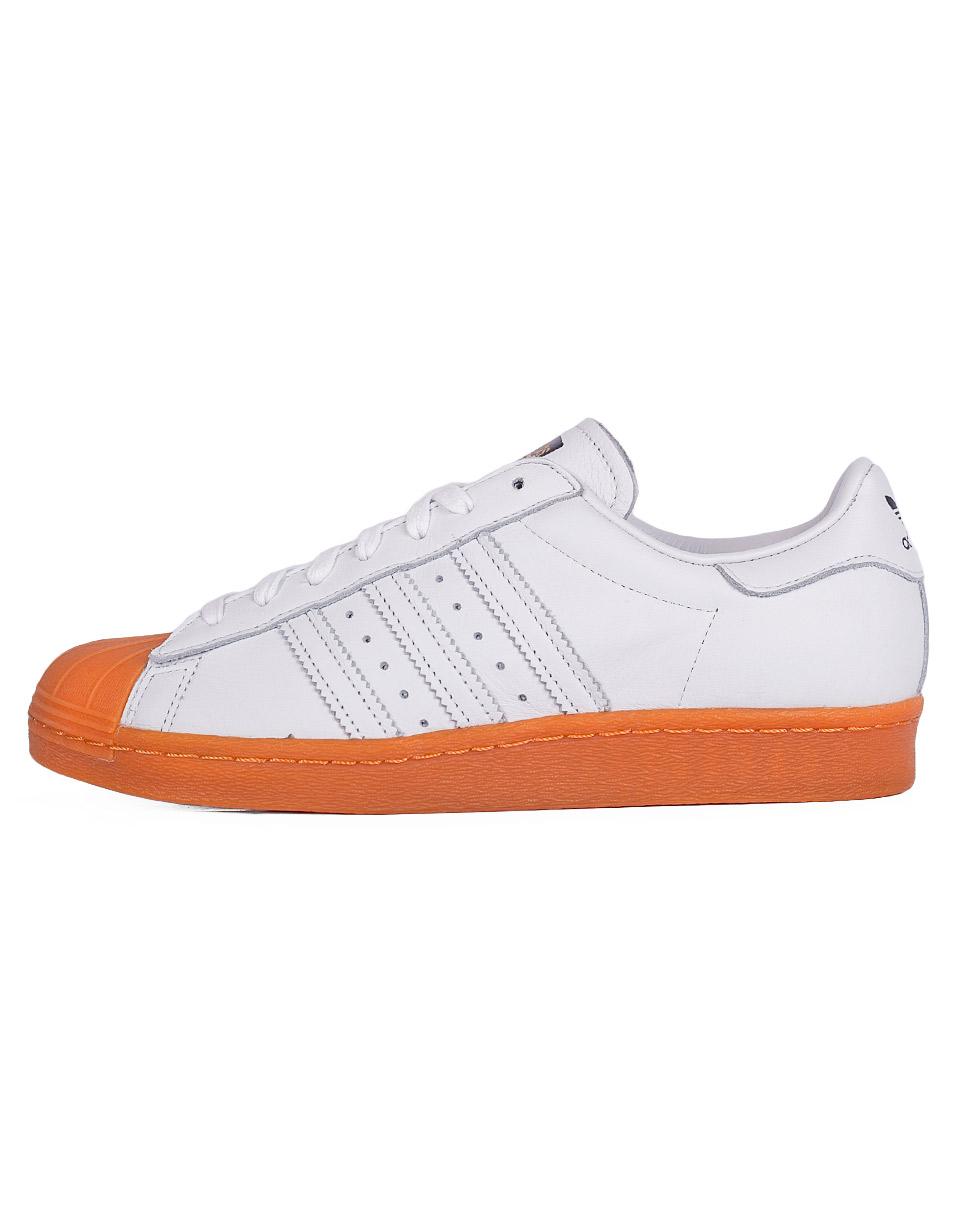Sneakers - tenisky Adidas Originals Superstar 80s White/ White/Gold Met. 42 + doprava zdarma