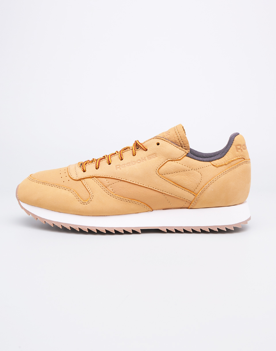 Reebok Classic Leather Ripple WP Golden Wheat Urban Grey 42