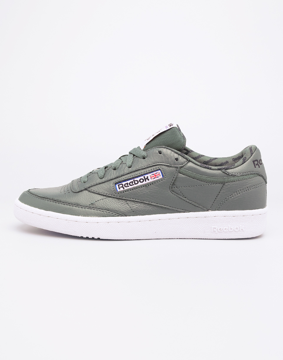 Reebok Club C 85 SO Hunter Green Primal Red 41