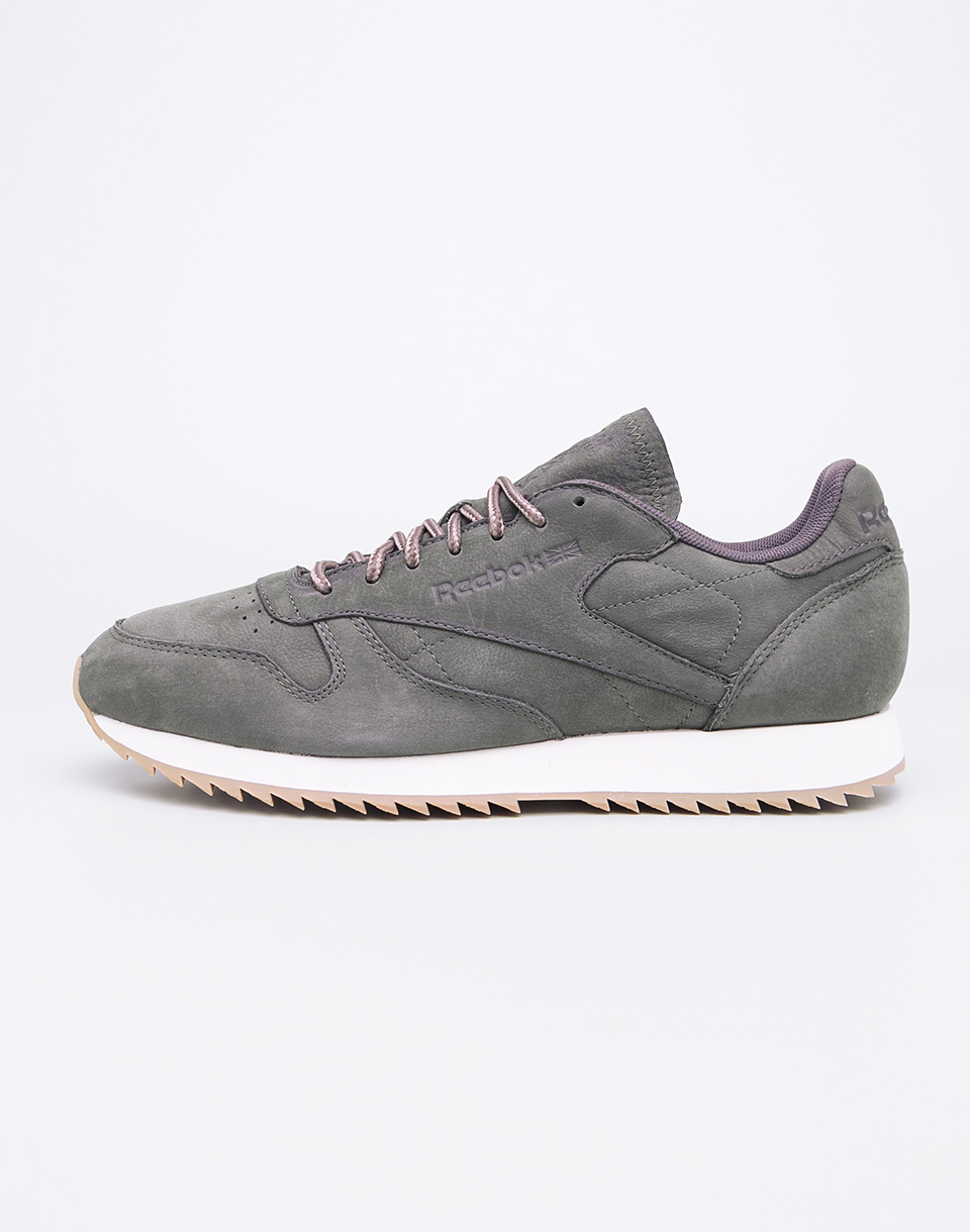 Reebok Classic Leather Ripple WP Hunter Green Urban Grey 46