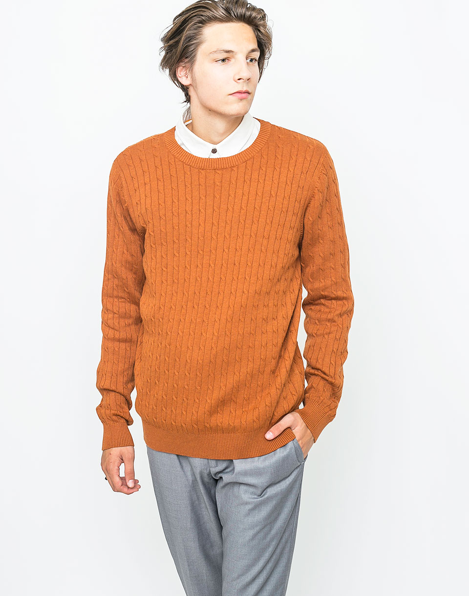 a4fc740eca70 Vzor na pleteny svetr s raglanovymi rukavy levně