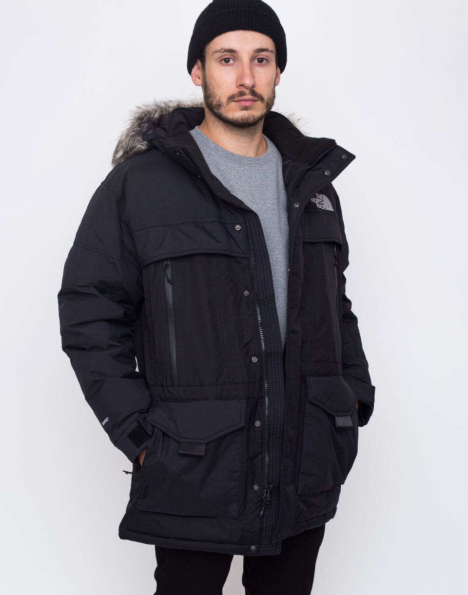 The North Face MC Murdo 2 TNF Black   High Rise Grey L