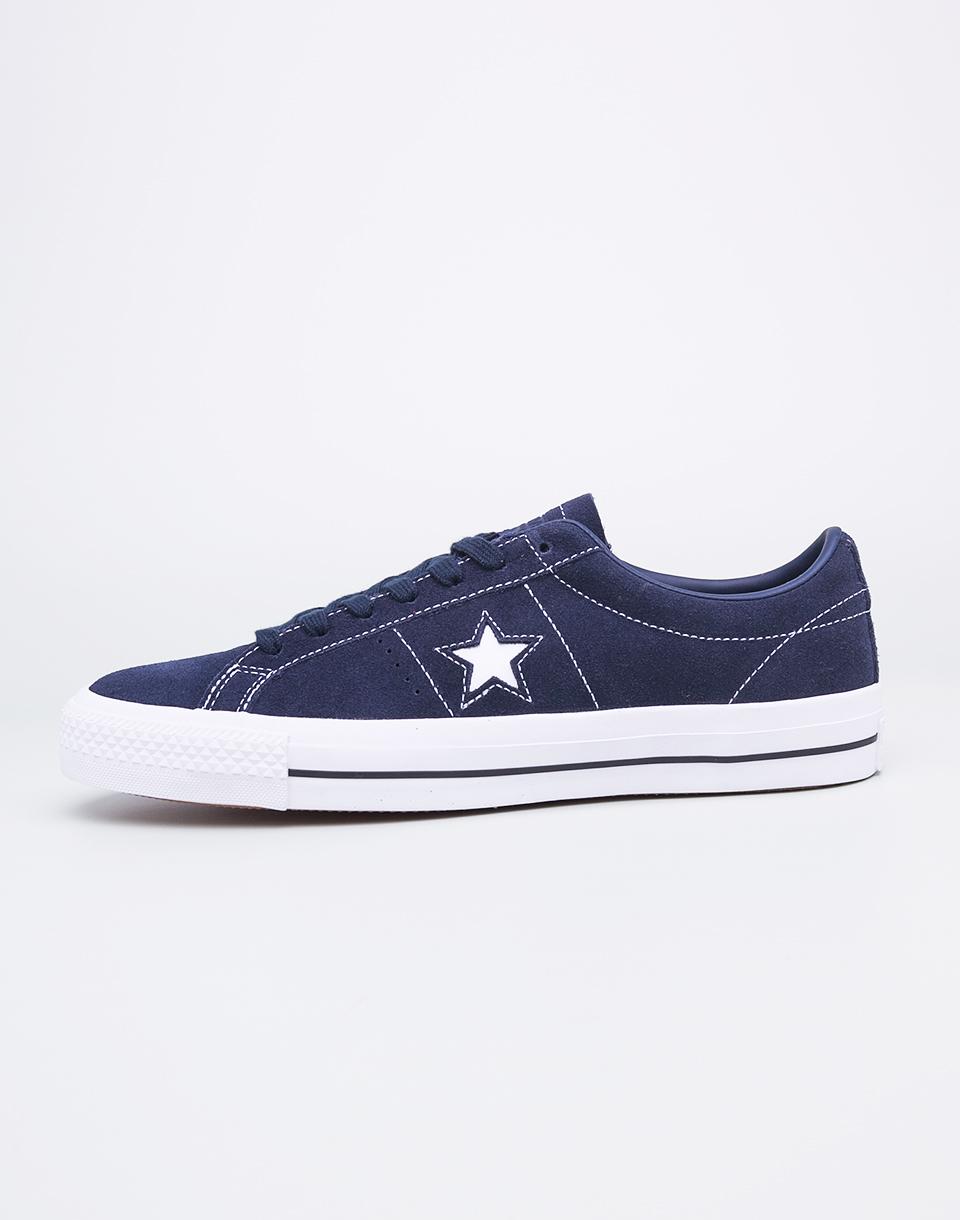 Sneakers - tenisky Converse One Star Pro Obsidian/Obsidian/White 41 + doprava zdarma