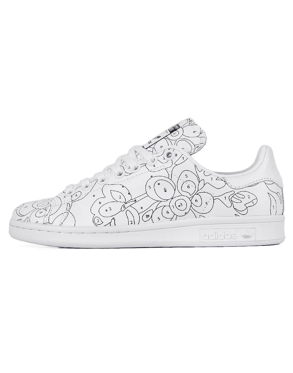 Sneakers - tenisky Adidas Originals STAN SMITH RO White/ White/Core Black 41
