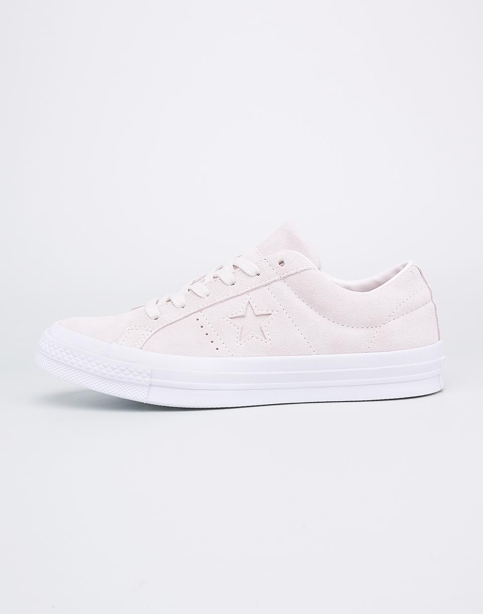 Sneakers - tenisky Converse One Star Egret/Egret/White 37