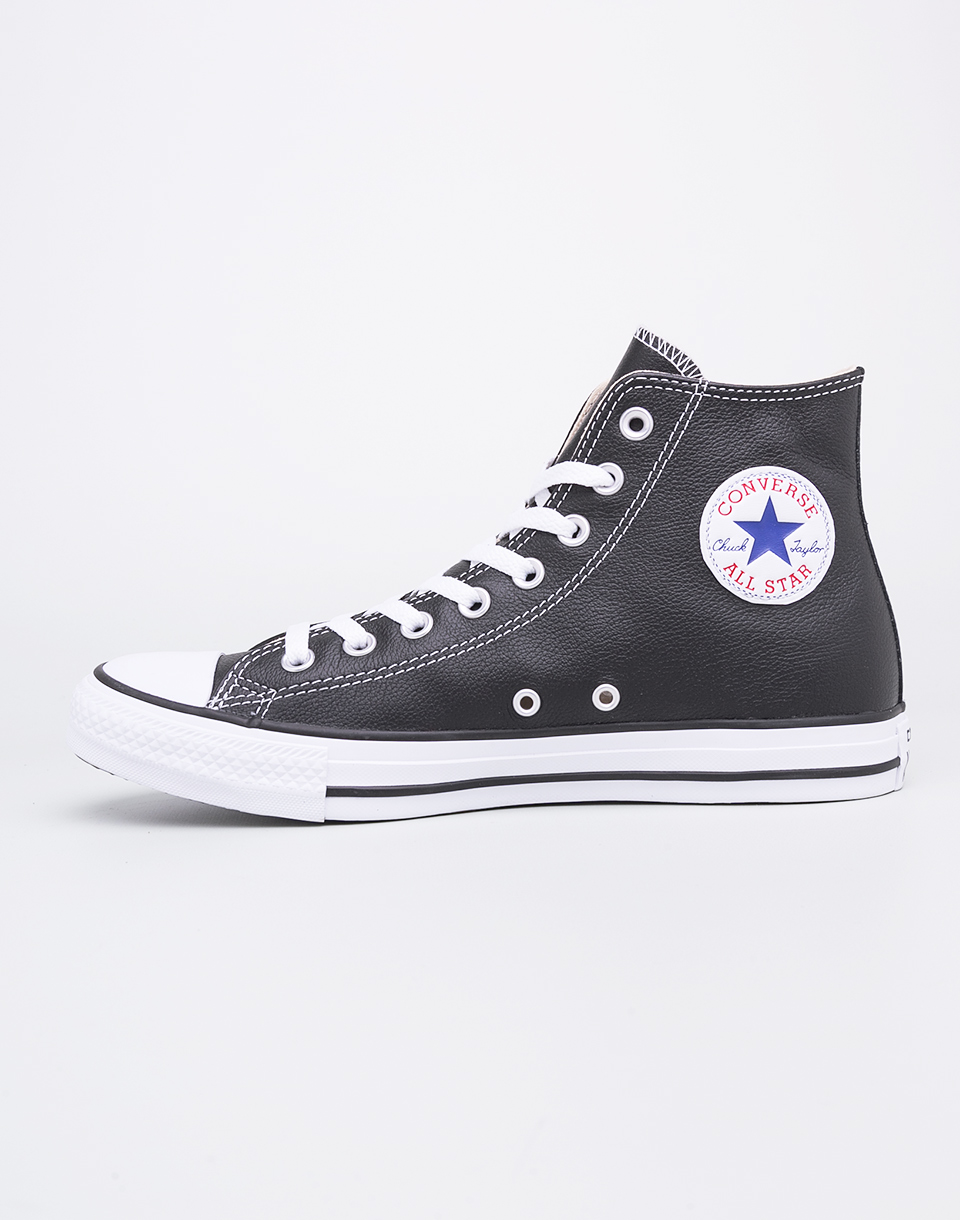 Sneakers - tenisky Converse Chuck Taylor All Star Leather Black 41