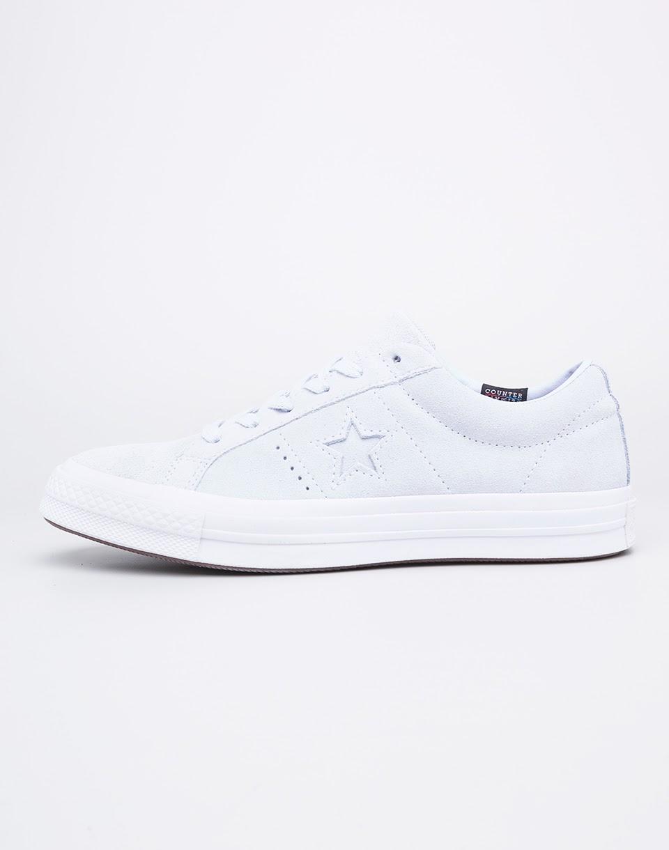Sneakers - tenisky Converse One Star Blue Tint/Blue Tint/White 37 + doprava zdarma