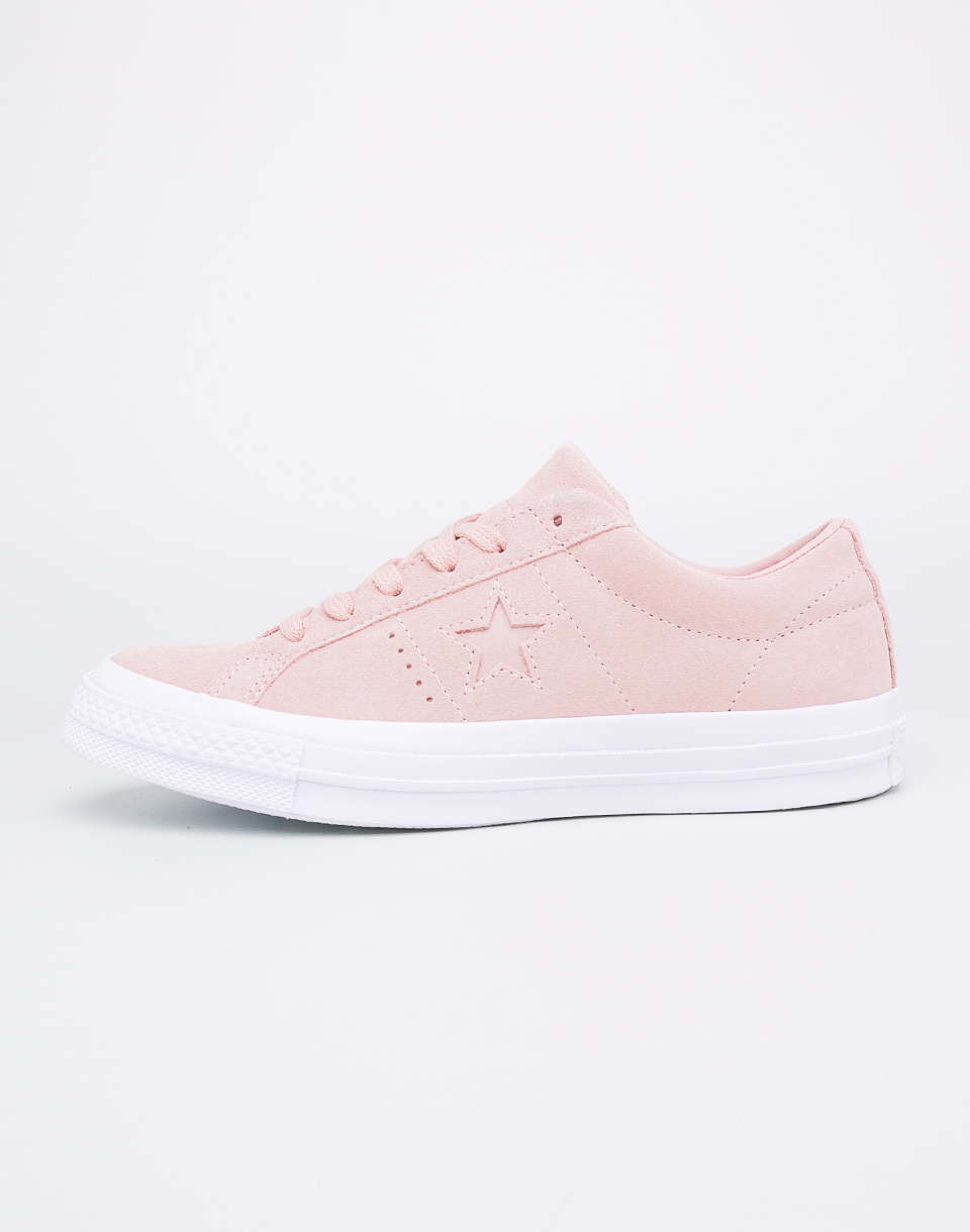 Sneakers - tenisky Converse One Star Dust Pink/Dust Pink/White 37