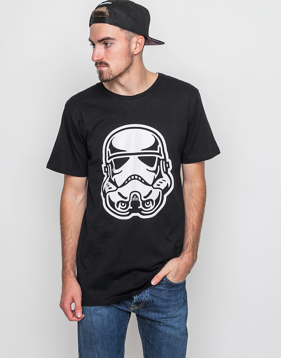 Triko Dedicated Star Wars Trooper Head Black xl