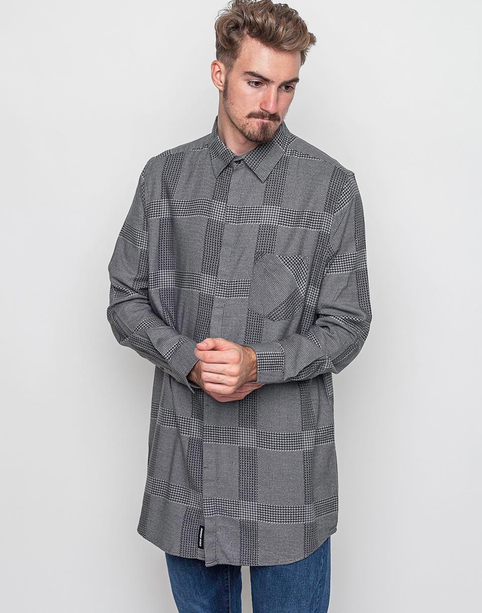 Košile Cheap Monday Hid Check Shirt grey m