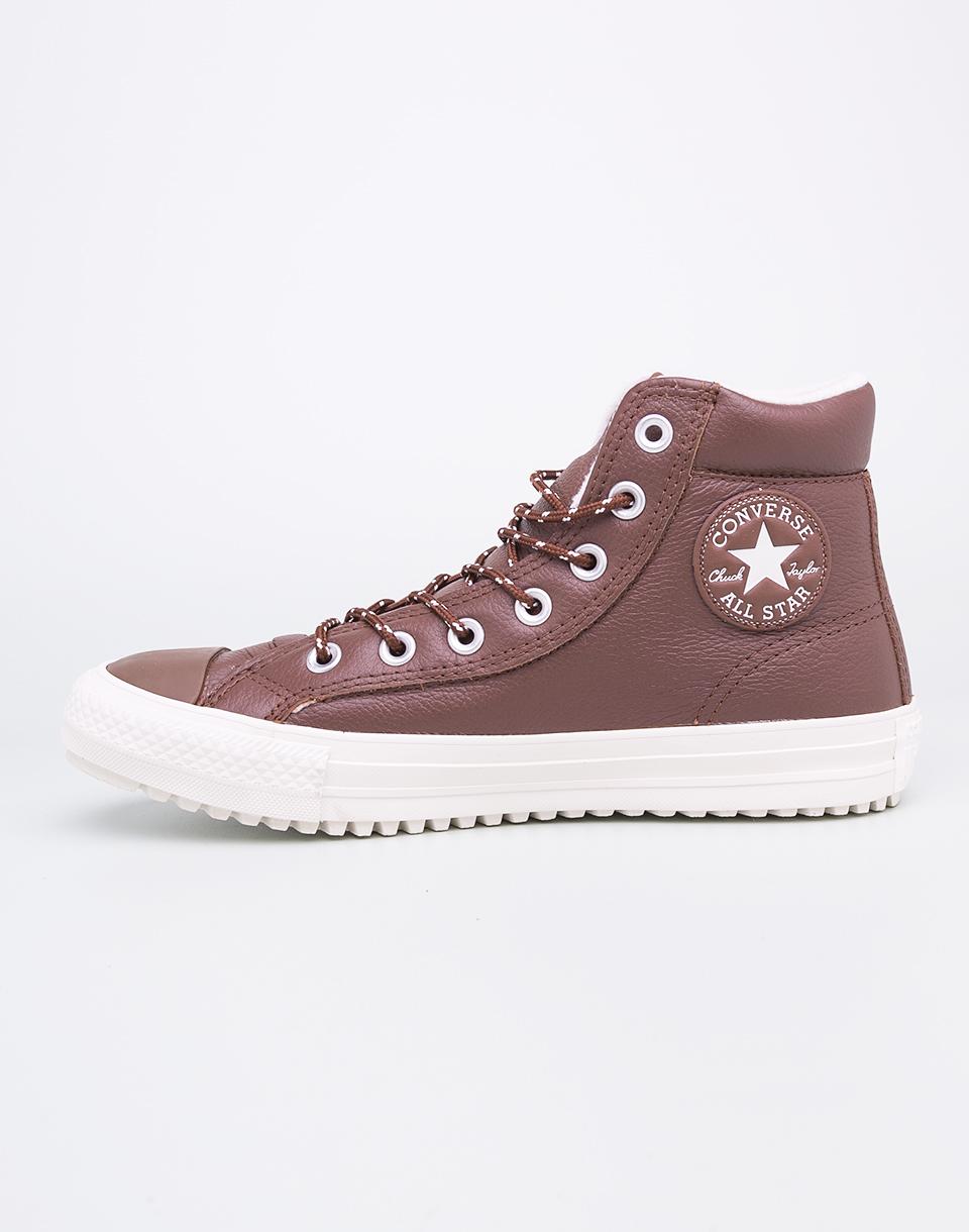 Sneakers - tenisky Converse Chuck Taylor All Star Boot PC Dark Clove / Dark Clove / Egret 41 + doprava zdarma