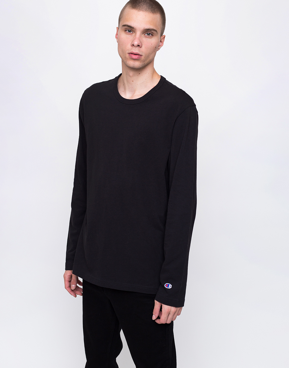 Champion Crewneck Long Sleeve T Shirt NBK L