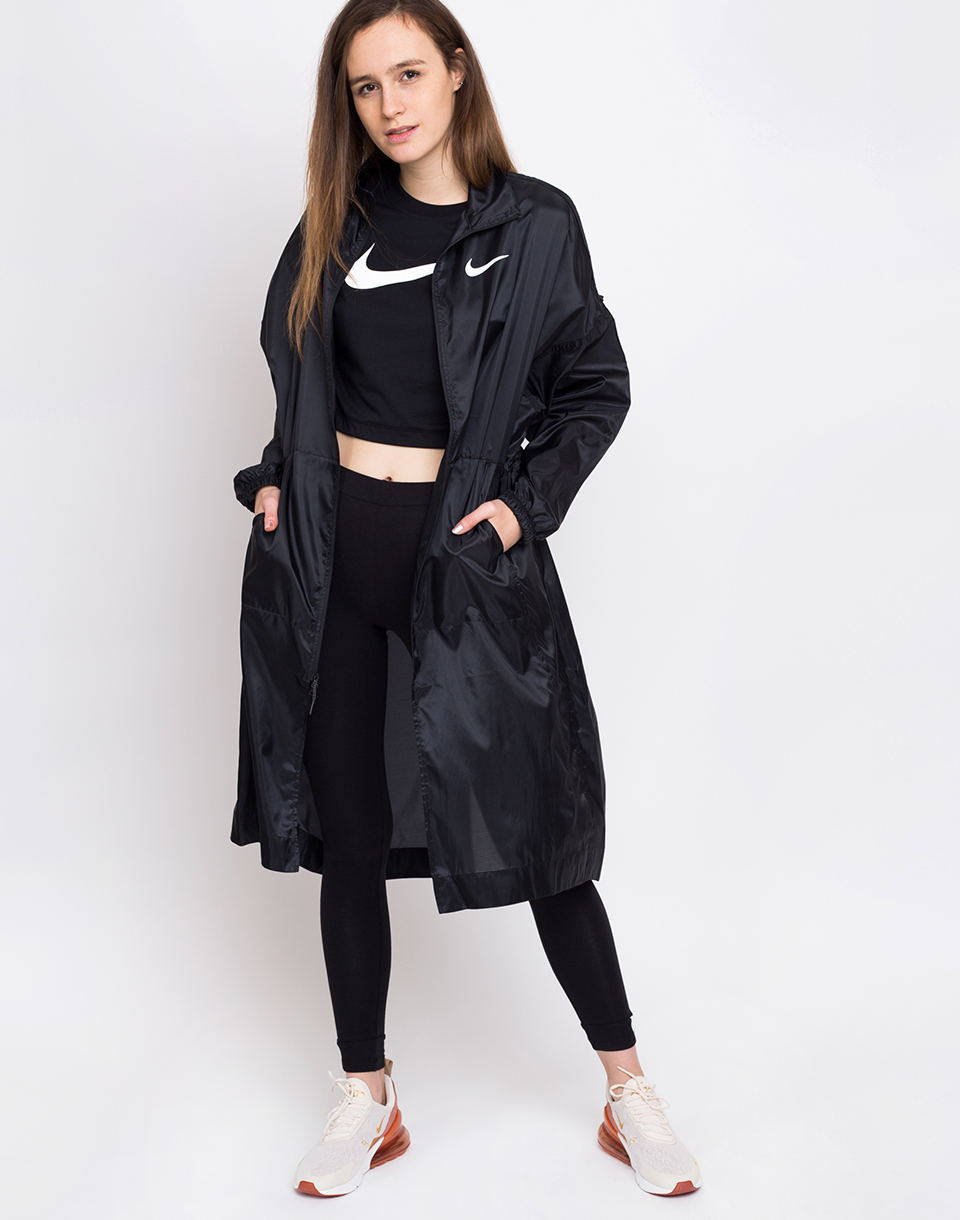 Nike Sportswear Swoosh Jacket Black/White XS