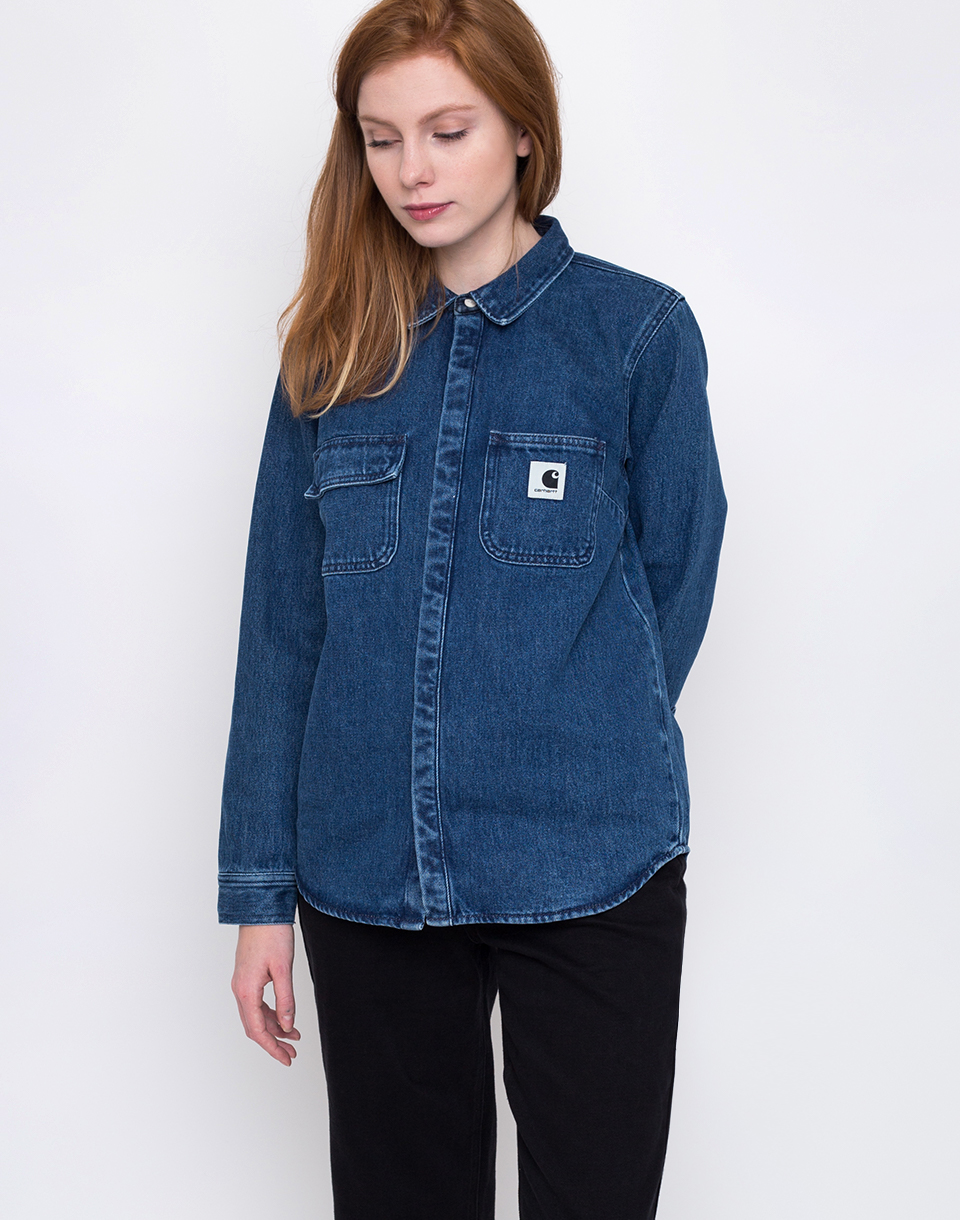 Carhartt WIP Salinac Blue stone washed M