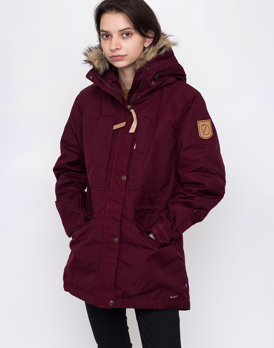 Fjällräven Singi Winter Jacket 356 Dark Garnet M