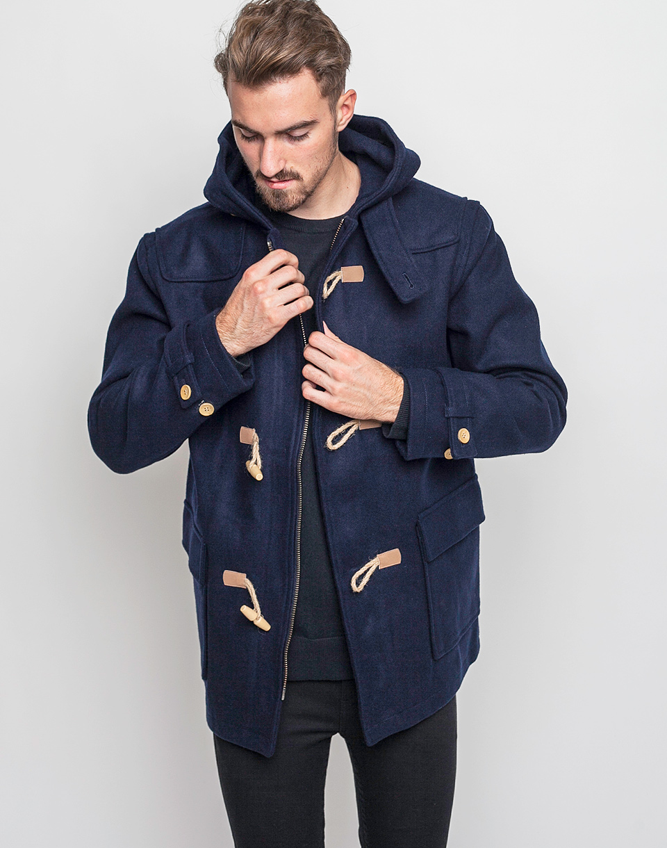 Kabát Makia Duffle Navy M + doprava zdarma