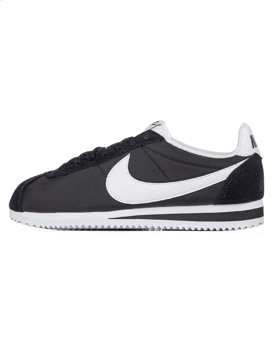 Sneakers - tenisky Nike Classic Cortez Nylon Black / White 37,5