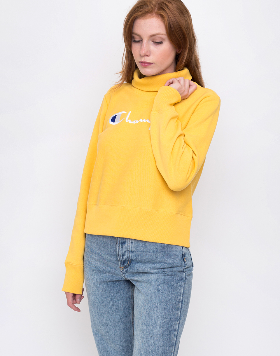 Champion Turtle Neck Long Sleeves Sweatshirt BFW L