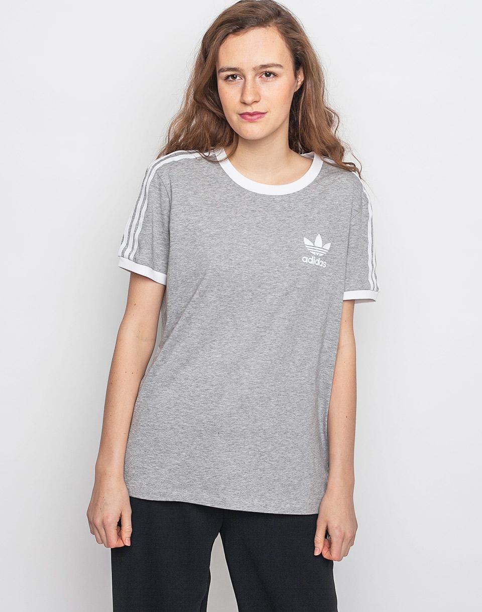 Triko Adidas Originals 3STRIPES TEE MGREYH 38