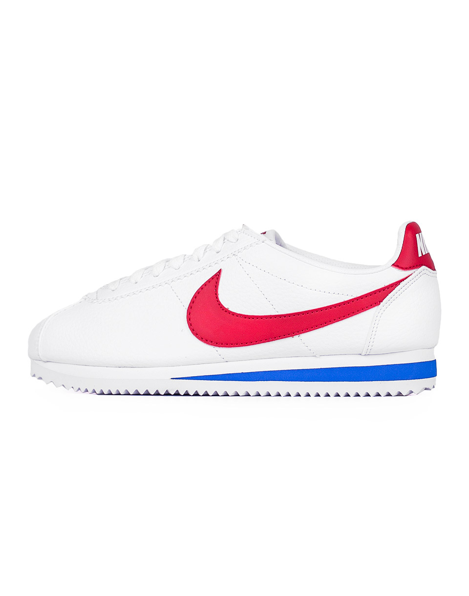 Sneakers - tenisky Nike Classic Cortez Leather WHITE/VARSITY RED_VRSTY RYL 40 + doprava zdarma
