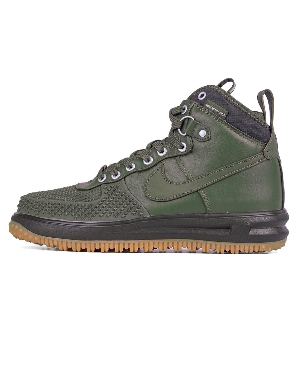 Sneakers - tenisky Nike Lunar Force 1 Duckboot Medium Olive / Medium Olive 42,5 + doprava zdarma