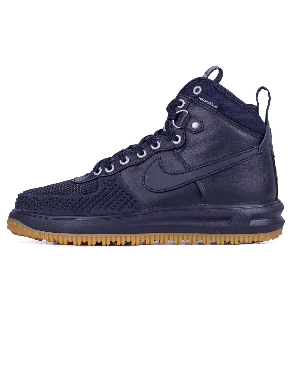 Sneakers - tenisky Nike Lunar Force 1 Duckboot Dark Obsidian / Dark Obsidian 41 + doprava zdarma