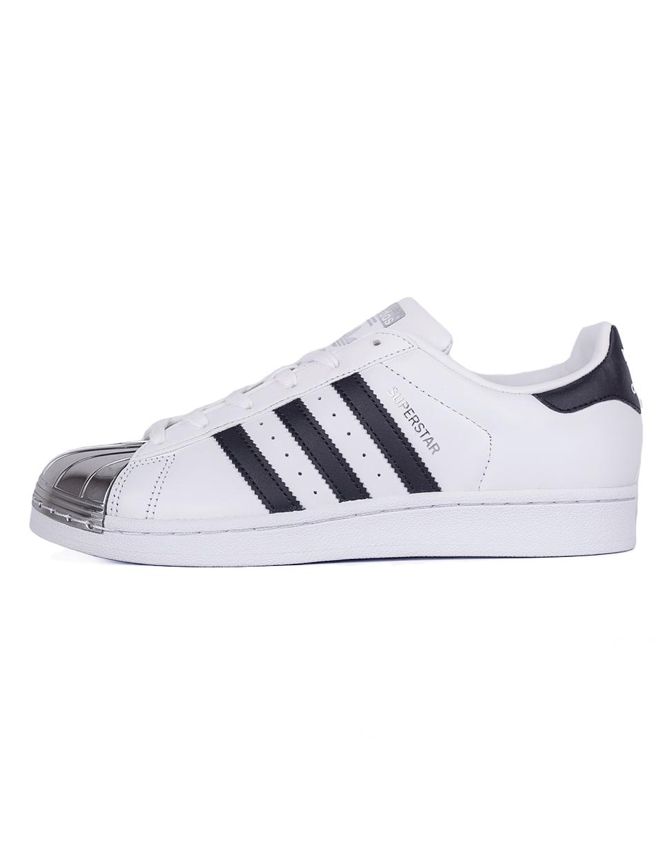 Sneakers - tenisky Adidas Originals Superstar Metal Toe Footwear White / Core Black / Silver Metallic 41 + doprava zdarma