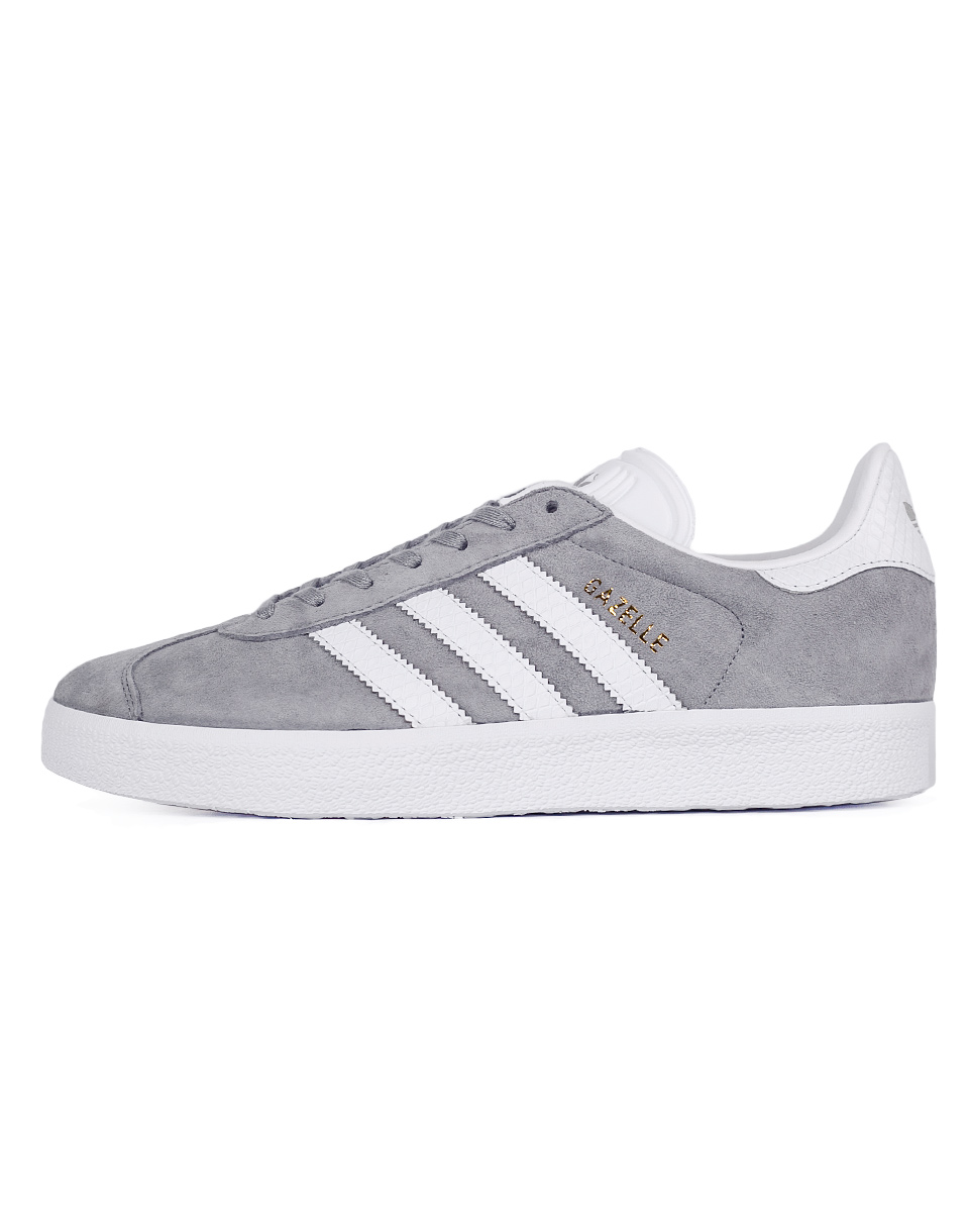 Sneakers - tenisky Adidas Originals Gazelle Mid Grey / Footwear White / Gold Metallic 37 + doprava zdarma