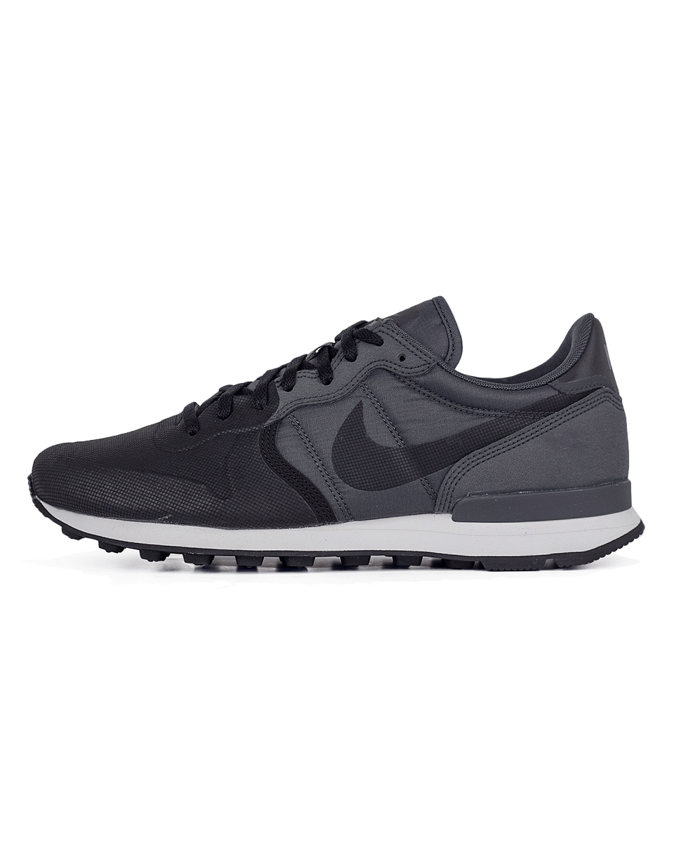 Sneakers - tenisky Nike Internationalist Premium Suede Black / Black - Anthracite 42