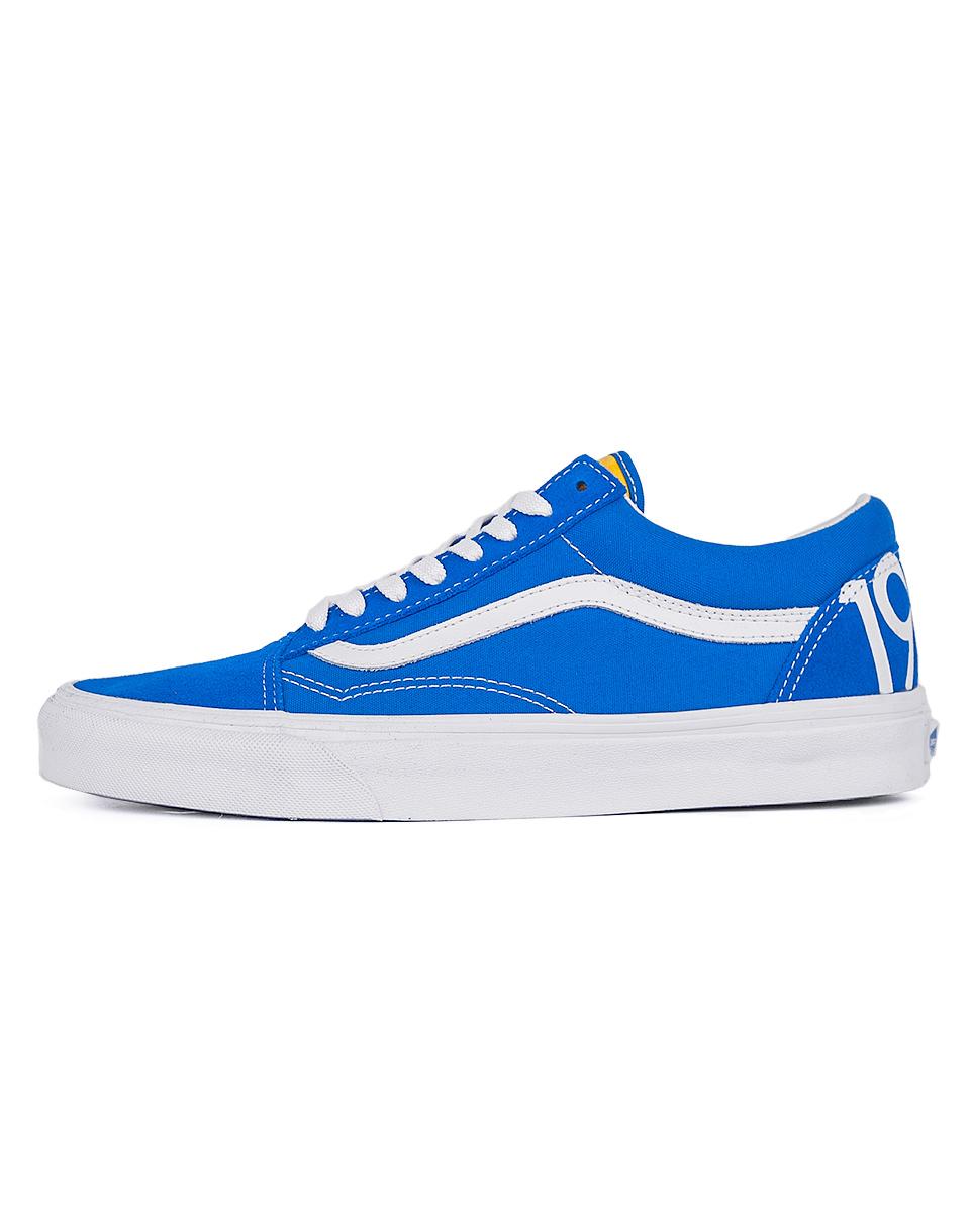Sneakers - tenisky Vans Old Skool 1966 Blue / White / Red 41