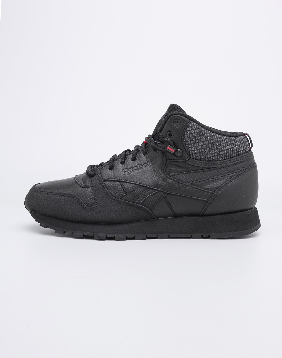 Reebok Classic Leather Mid TWD Black Ex  Red Black 42