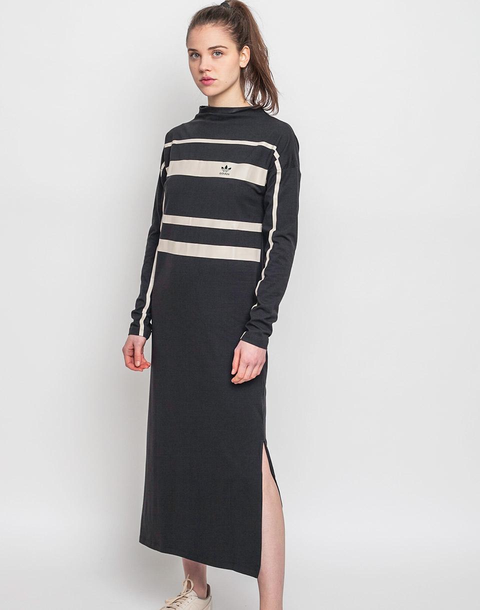 Šaty Adidas Originals Long Black 36 + novinka