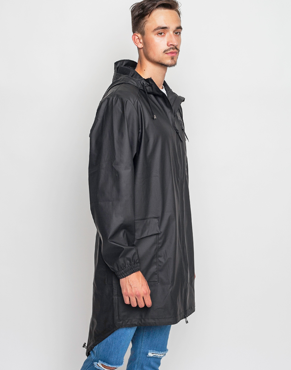 Rains Parka 01 Black M L