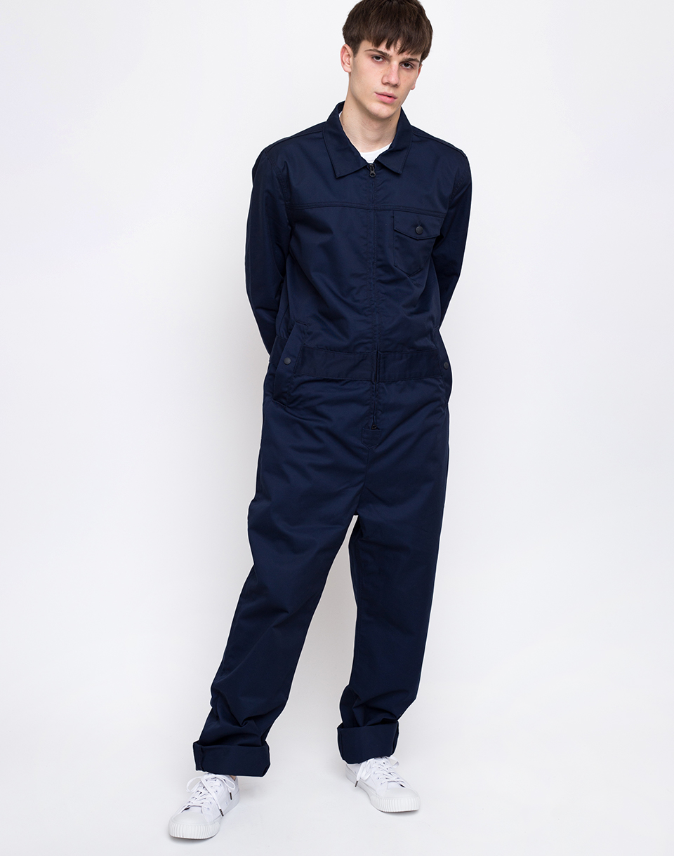 M C Overalls Polycotton Overalls Navy L