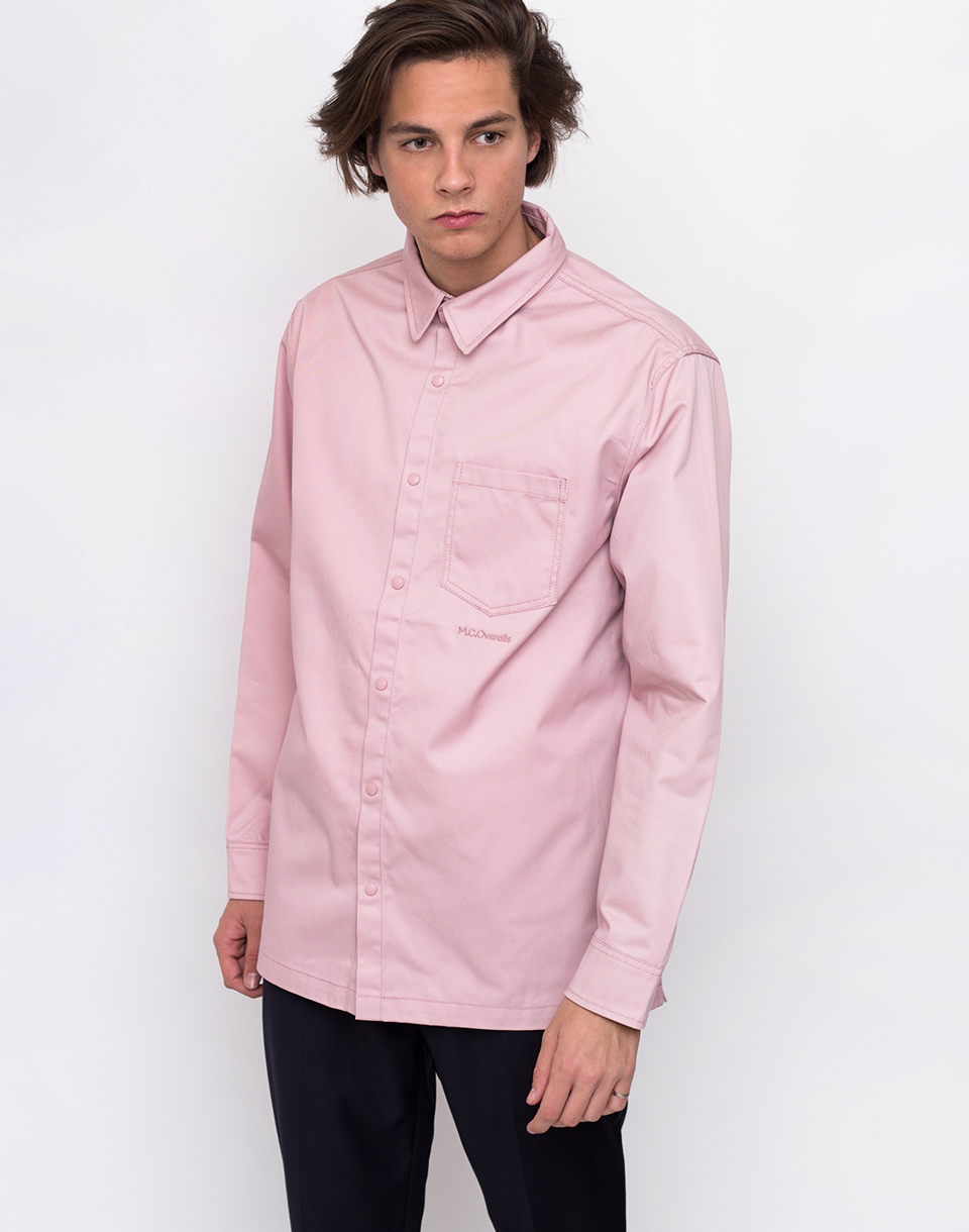 M.C.Overalls Polycotton Shirt Dusty Pink L