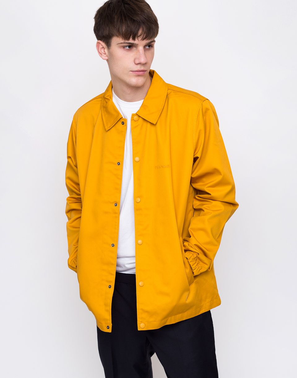 M C Overalls Polycotton Coach Jacket Yellow L