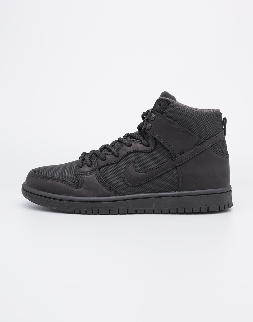 Nike SB Zoom Dunk High Pro Bota Black / Black - Anthracite 42