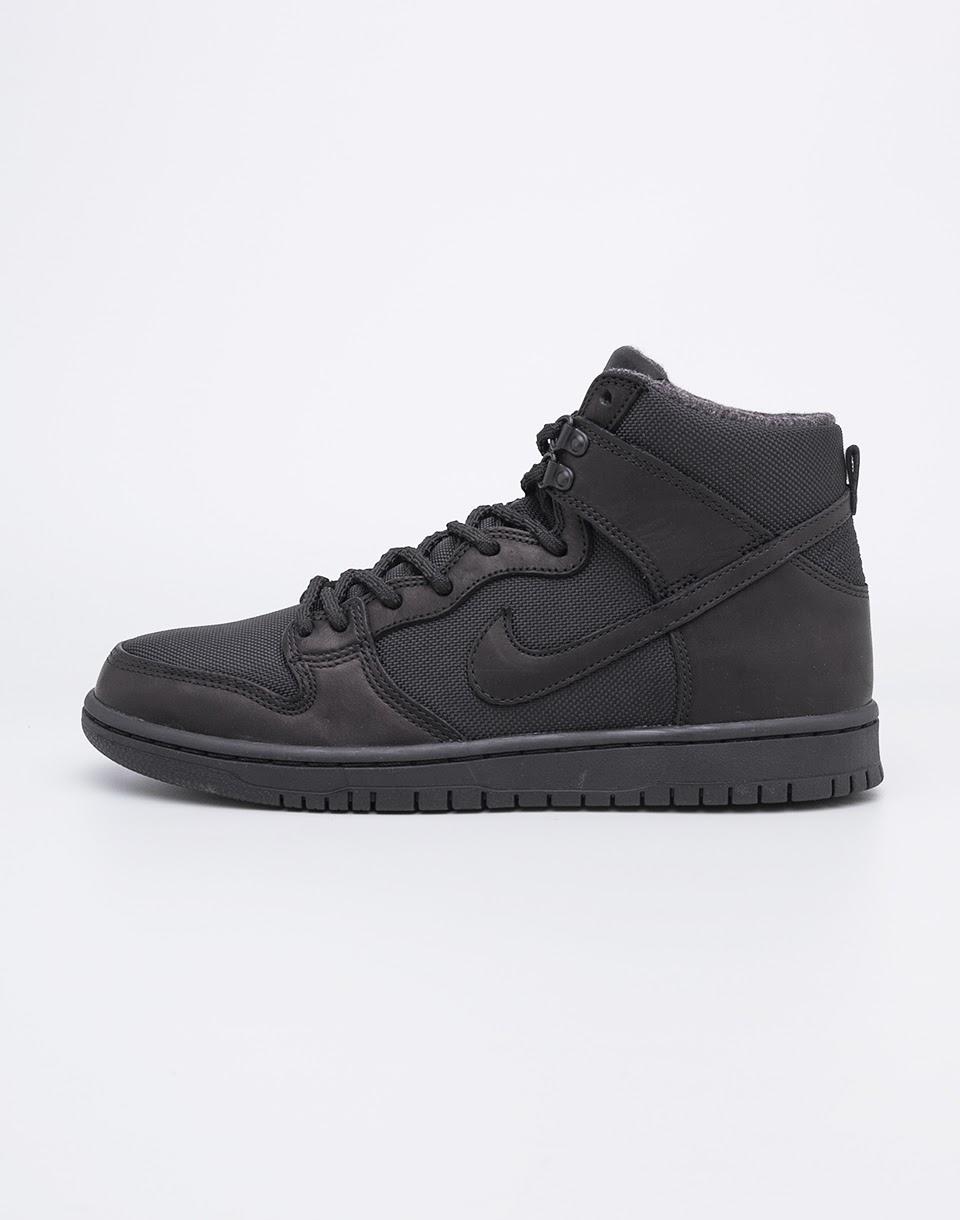 Sneakers - tenisky Nike SB Zoom Dunk High Pro Bota Black / Black - Anthracite 42 + doprava zdarma + novinka