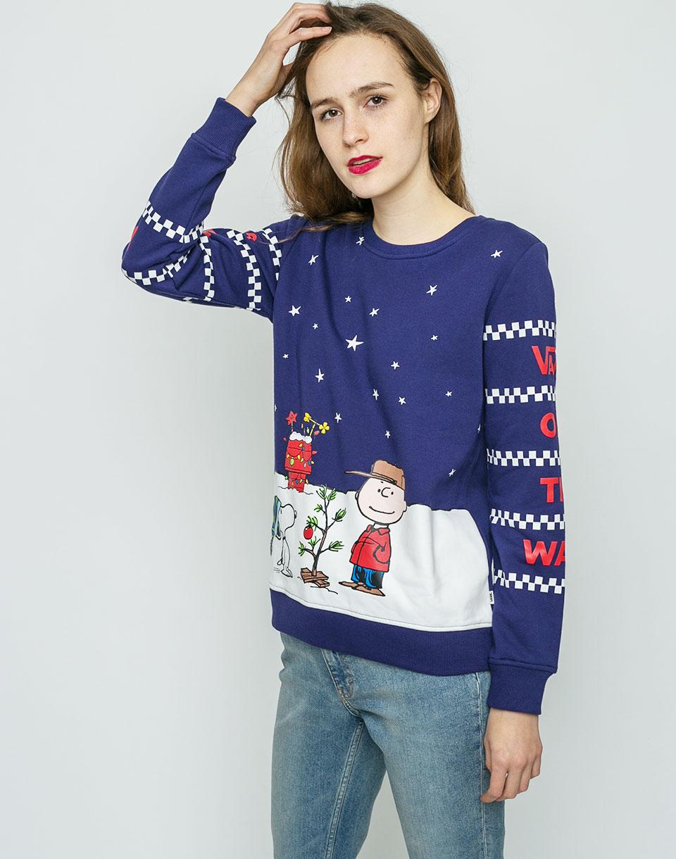 Mikina Vans Peanuts Christmas l