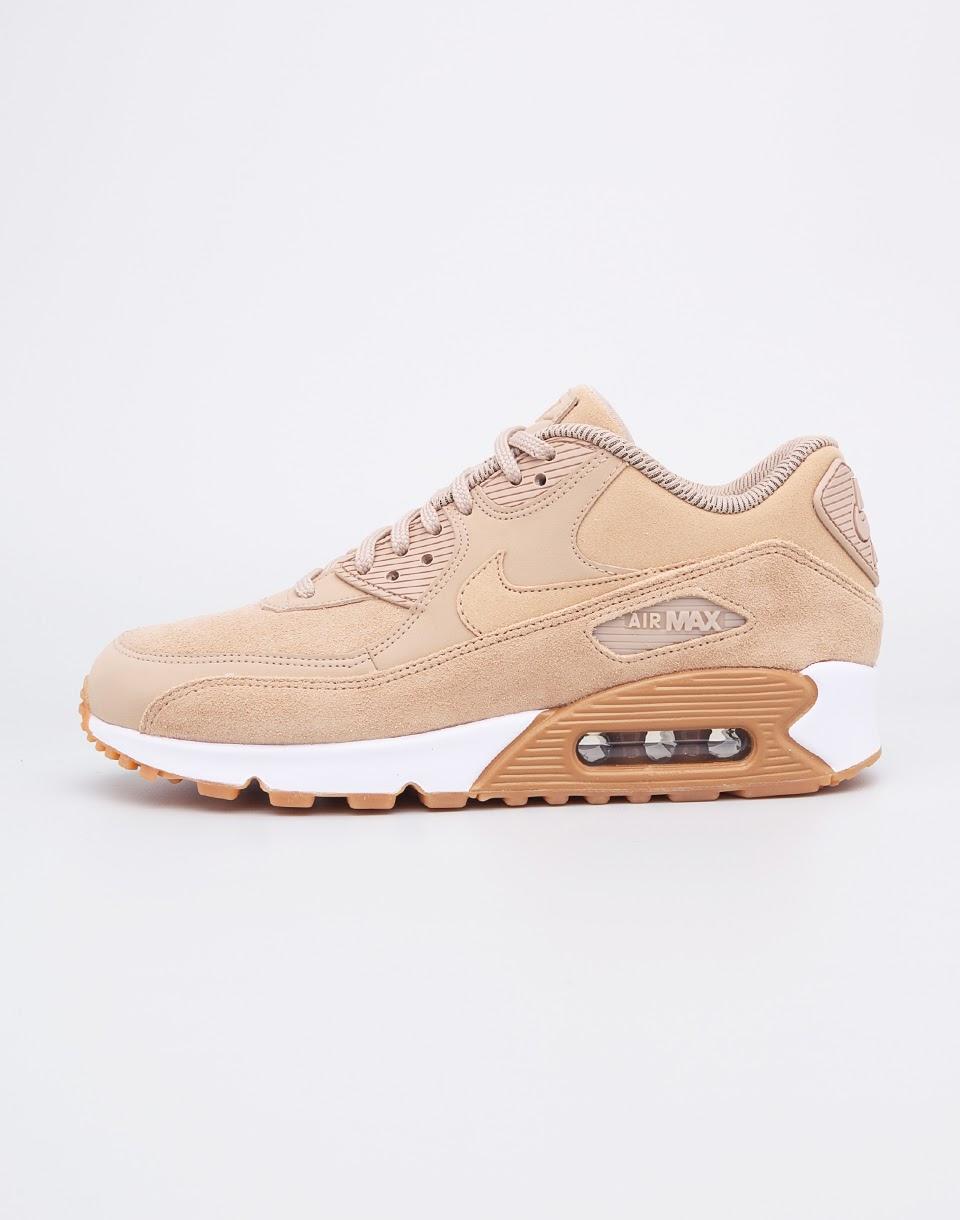 Sneakers - tenisky Nike Air Max 90 SE Mushroom / Mushroom - Bum Light Brown - White 38 + doprava zdarma