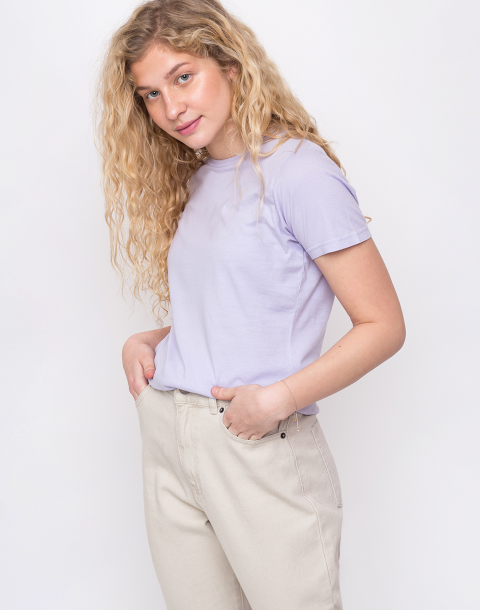 Colorful Standard Women Light Organic Tee Soft Lavender L
