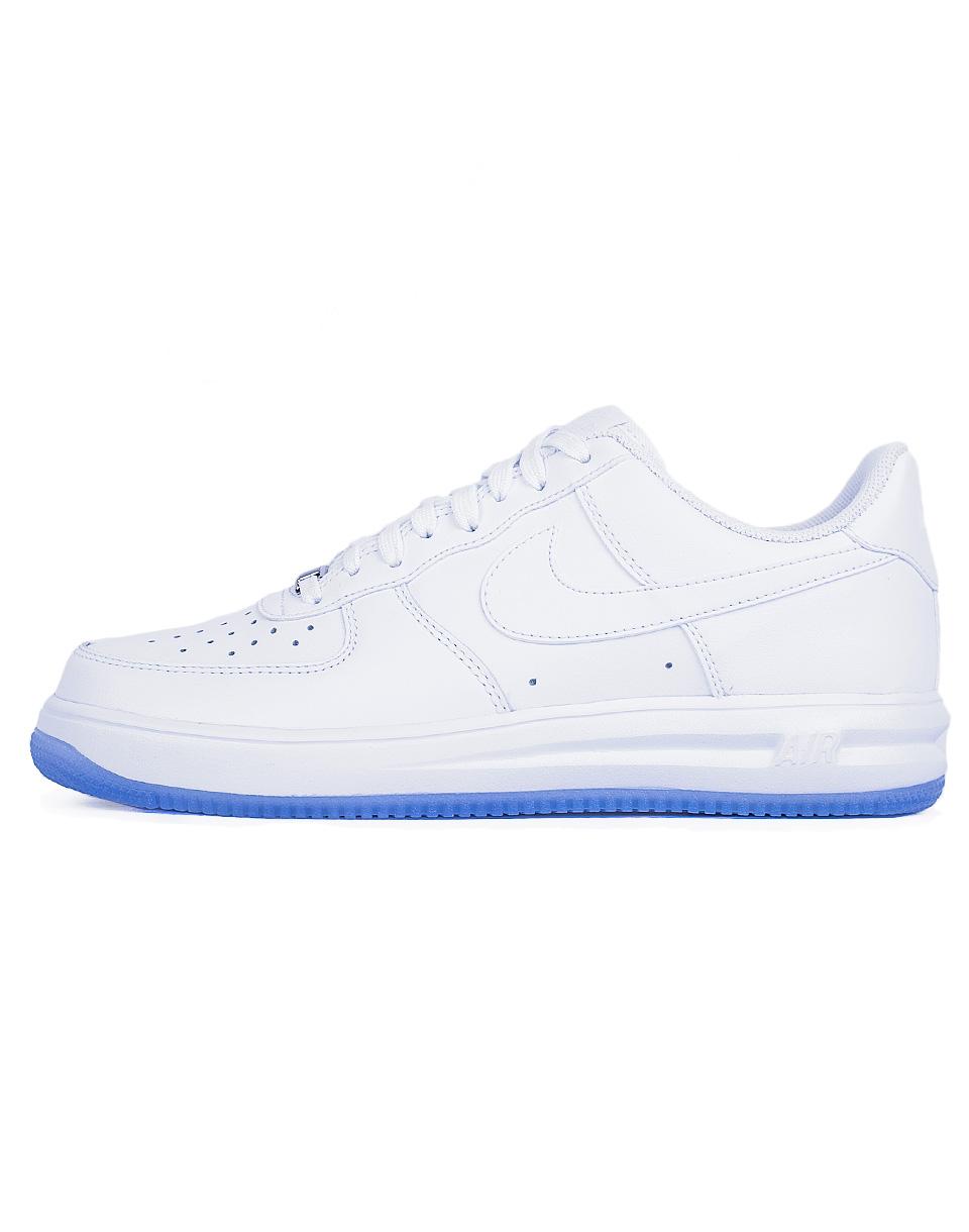 Sneakers - tenisky Nike Lunarforce 1 WHITE/WHITE-WHITE 42,5 + doprava zdarma